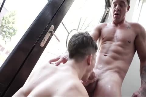 College guys get Dared To insert A ramrod