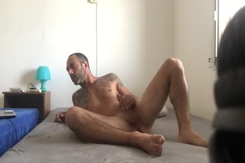 Hidden cam Catches Roommate webcam Model Broadcast Himself undressed And Masturbating Showing Feet