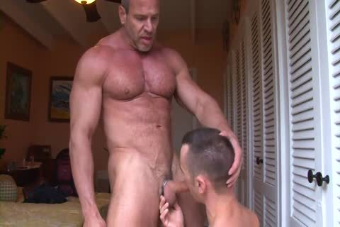 Muscle dad Trains A Pigboy - poke And piss Up His vagina