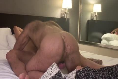 Nick Capra Barebacks Teddy Bear