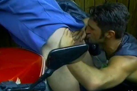 lovely homo Hunks Share An Outdoor ass bang