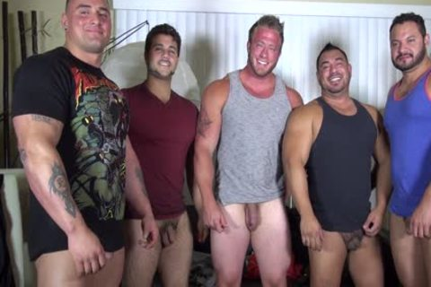 in nature's garb Party @ LATINO Muscle Bear abode - non-professional joy W/ Aaron Bruiser