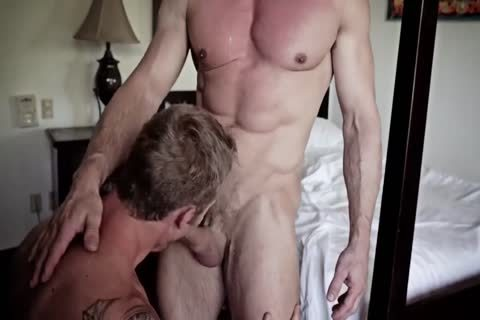 classy gay guys bareback poke And Show Off Their Muscles