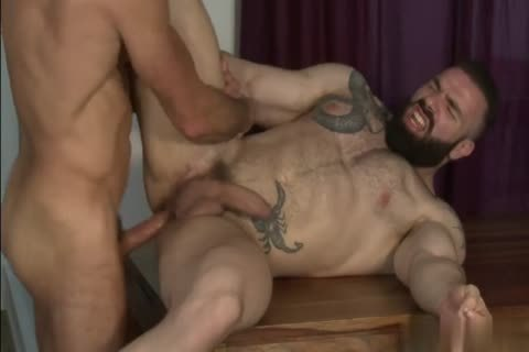 nasty gay bare butthole plowing