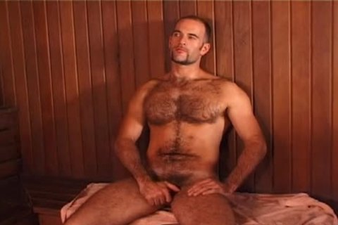 Bear 3some In Sauna