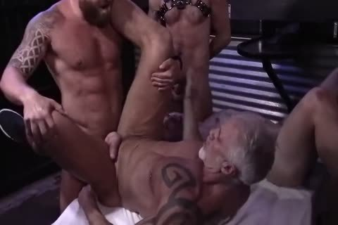 Father & Son orgy group-sex