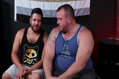 Lanz Adams & Hunter Scott: beefy & massive