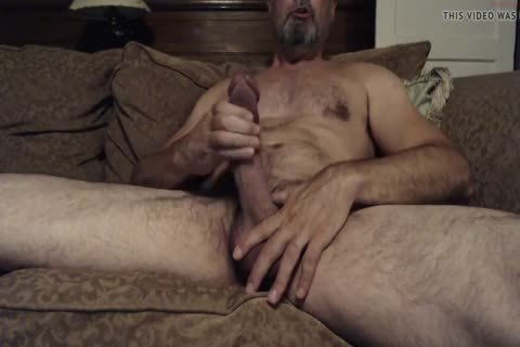 Hung hirsute Daddy With A large dick
