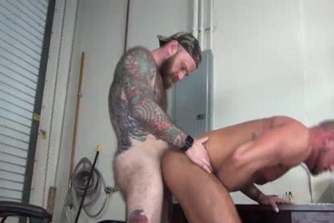 raw fuck Club Jack Dixon Boss pounds Employee Michael Roman