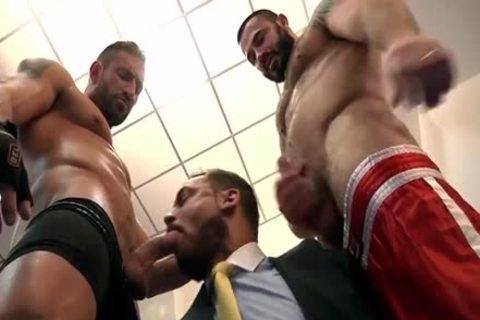 Muscle Bears bang Hard