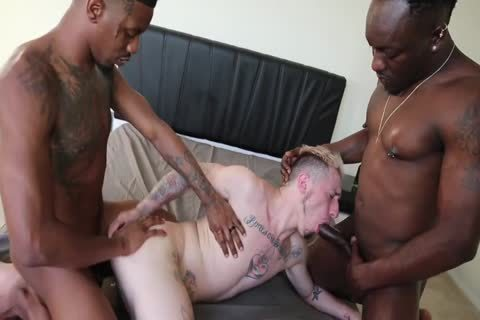 Knight, Knockout & Domino Daniels 3some bare