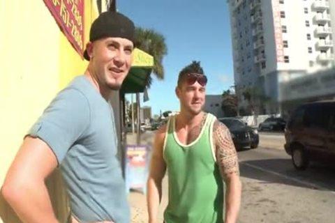 wild Ronnie poked In Public