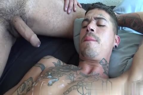 Bald juvenile Latino Anally Bonks And Rimms His concupiscent cock lover