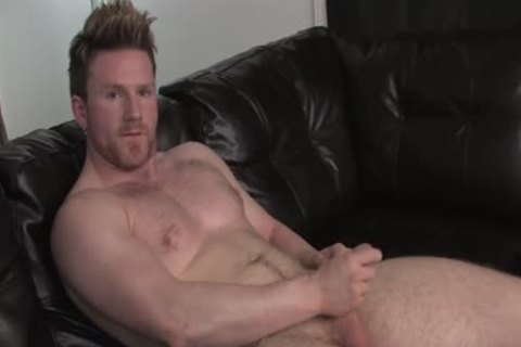 sperm penis - kinky Large & muscular Bear