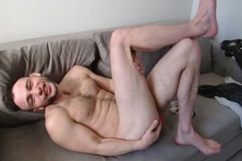 muscular Muscled boy Alex With precious Body Hair And spunk flow