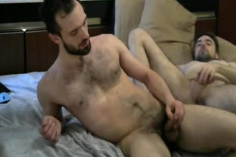 hairy dudes butthole fucking On cam