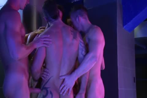 homosexual lovely orgy