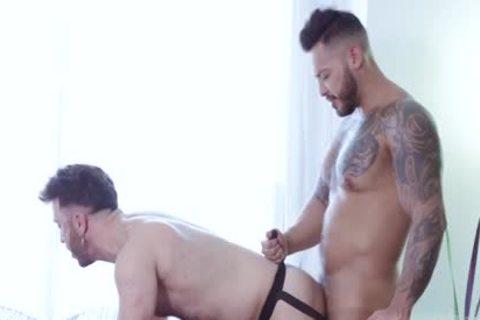 gigantic dick In Latino Bodybuilder