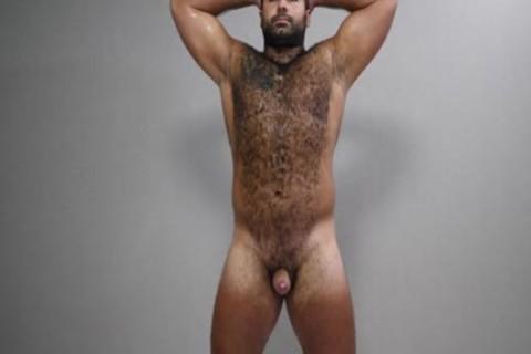 naughty Russian Bear Playing
