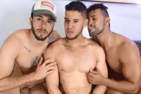 Three-some Latin playgirl boyz Free Sex Chat Porn On Cruisingcams.com