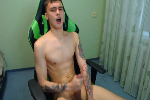 sexy 20yo boy Ernest From Latvia With filthy cum-show