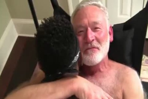 Favourable Daddy Acquires A Hard Darksome rod