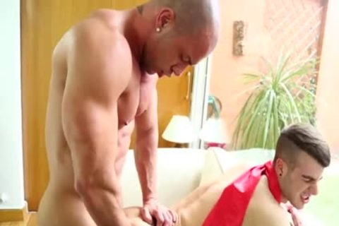 biggest dick Homo pooper Job With Facial