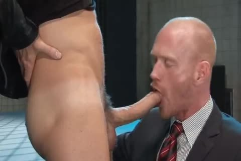 plowed At Work By throbbing gay cock Leather Skin By DoomGAY