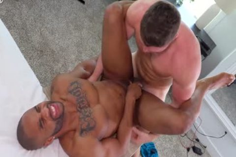 Two fresh fellows pound - tasty underclothing Model let's Newbie Top Him For His First lad/lad Hookup