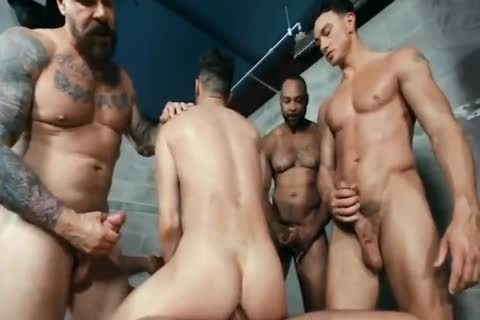 homosexual orgy group gangbang HUNKS big cocks video By GrzeGoRzUni1988