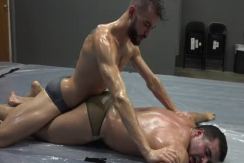 Jax Vs Nero Oil Wrestling Match