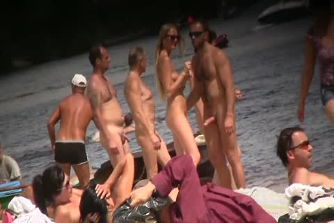 SPYING ON naked men AT THE NUDIST BEACH - VOL 1