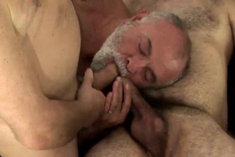 trio older men