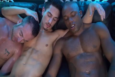 Osiris Blade, Beau Taylor & Jordan Belford Interracial 3way