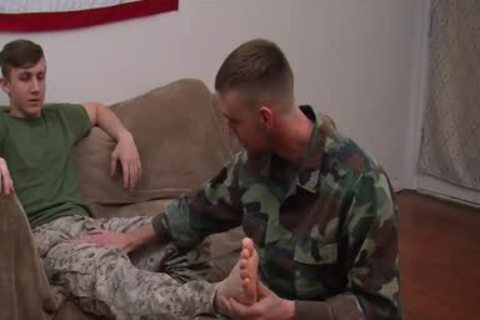 private First Class Jett S First gay oral pleasure