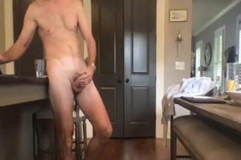daddy chap jerking off On webcam