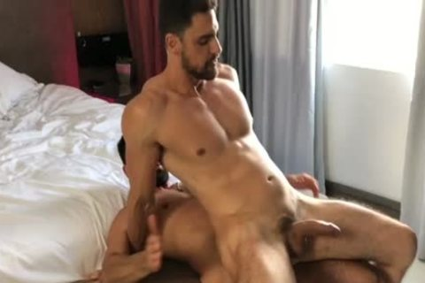 Brazilian duett Have A admirable Time By An Indoor Pool And In bed
