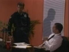 Cop pokes Office Worker