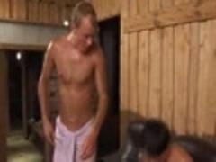 Sex In Sauna