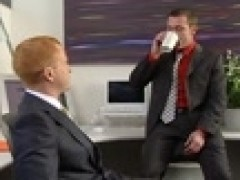 Trevor Knight hammers Office Redblowjob