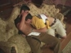 Latin twinks On couch