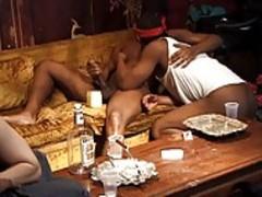 4 guys enjoying The Homo-sex With sucking dongs