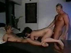 Vintage Bi MMF with Two horny Blond boys