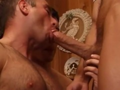 cum Gulping delicious mans Joined By another H