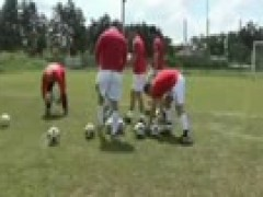 Muscle Soccer Players pound
