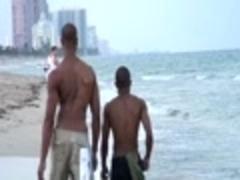 A Walk On Da Beach & banging My Caramel pooperhole