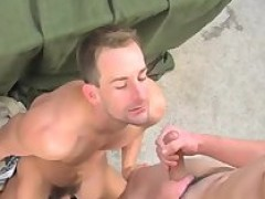 Joint Military blow job-stimulation And plow.