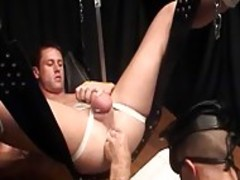 Keb And Mike Austin ass Fisting In bdsm Scene homosexual