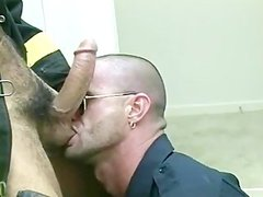 dirty Hard Bodied Muscled homosexual Bears In Uniform pounding Hard